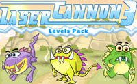 Laser Cannon 3 Levels Pack