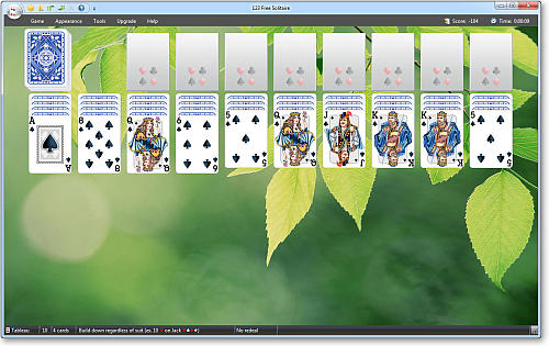 123 Free Solitaire Image 1