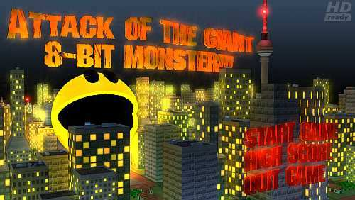 The Attack of the Giant 8-Bit Monster Bild 1