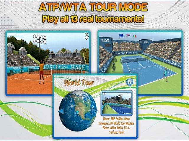 First Person Tennis World Tour Bild 1