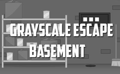 Grayscale Escape - Basement