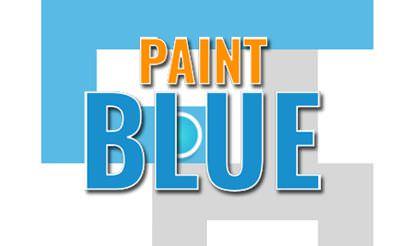 Paint Blue