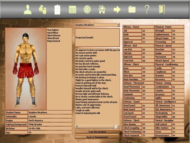 Kickboxing Manager Bild 2