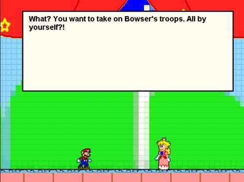 Super Mario Fangame Bild 1