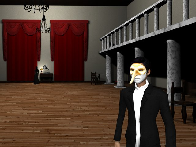 Murder at Masquerade Manor Bild 2