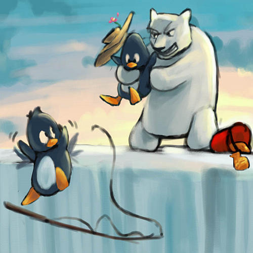 Penguin Adventure Bild 2