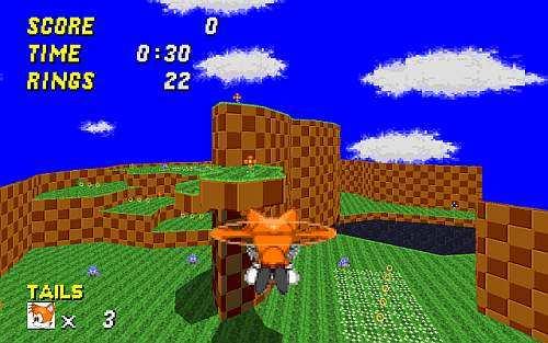 Sonic: Robot Blast 2 Image 1