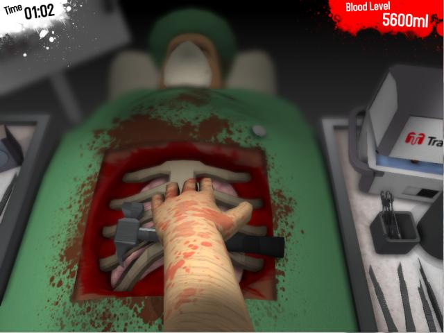 Surgeon Simulator 2013 Bild 2
